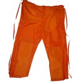 Copripantalone in nylon per decespugliatore - Arancione